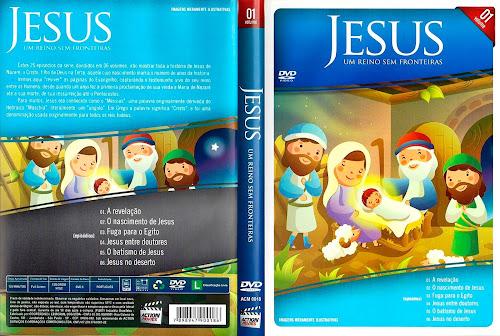 Jesus - Um Reino Sem Fronteiras Vol. 1 - DVD-R