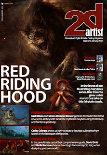 2DArtist Magazine Issue 73  January 2012
