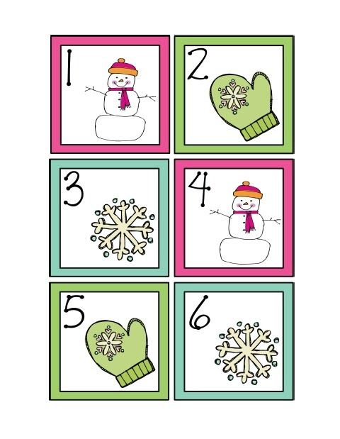 Calendar Printables Preschool : January calendar cards freebie creating teaching