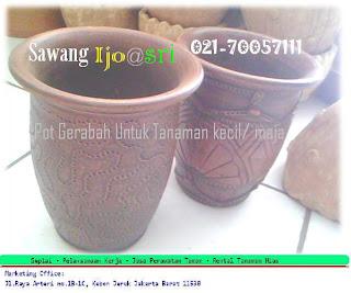 pot garabah untuk tanaman hias dalam ruangan