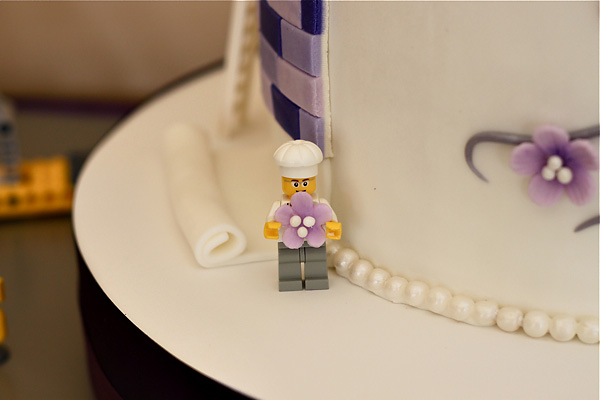Couture Lego Wedding Cake