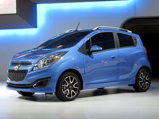 Equipamiento Chevrolet Spark 2013