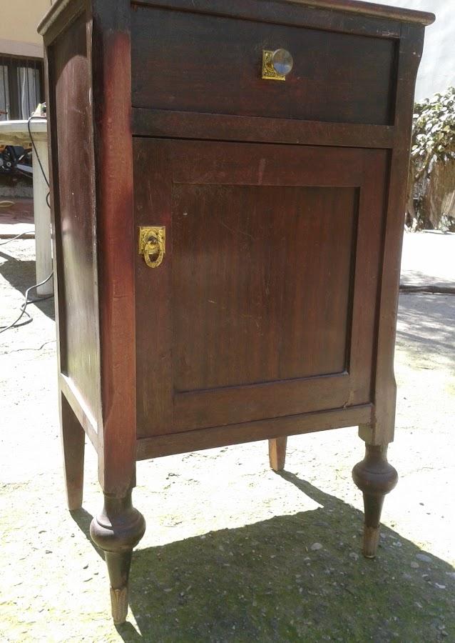 Recuperacion de muebles antiguos for Tunear muebles antiguos