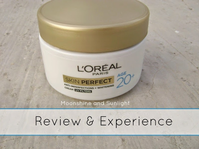 L'Oreal Paris Skin Perfect Age 20+ Day Cream || Review , Indian Beauty Blog