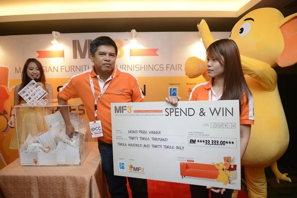 MF3 Malaysia Furniture & Furnishing Fair 2014 @Ideal Convention Centre Shah Alam