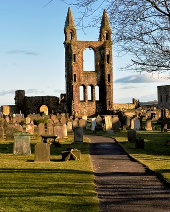 St Andrews Cathedral, Fife Scotland