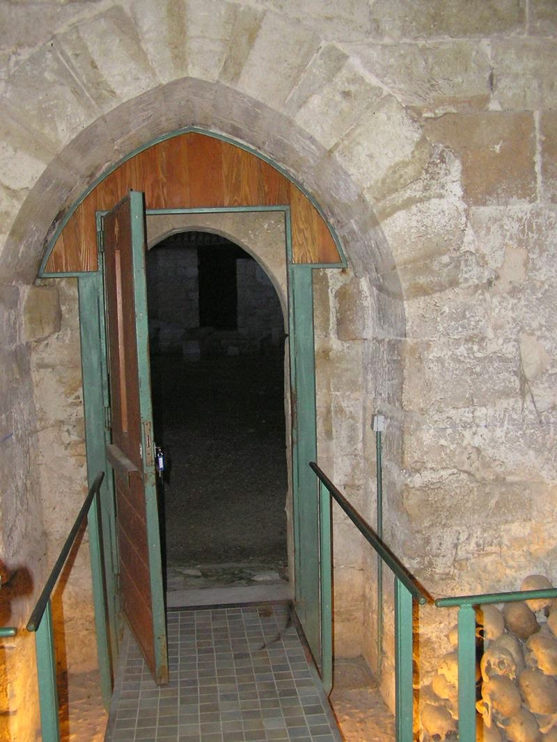The famous Wamba, Entrance from the cloister of the old monastery.