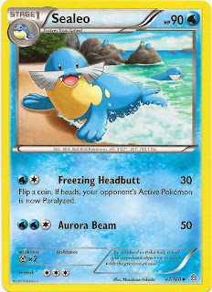 Sealeo Primal Clash Pokemon Card