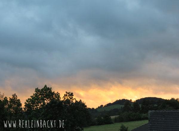 Hessische Rhön Rhoen Sonnenuntergang | Foodblog rehlein backt