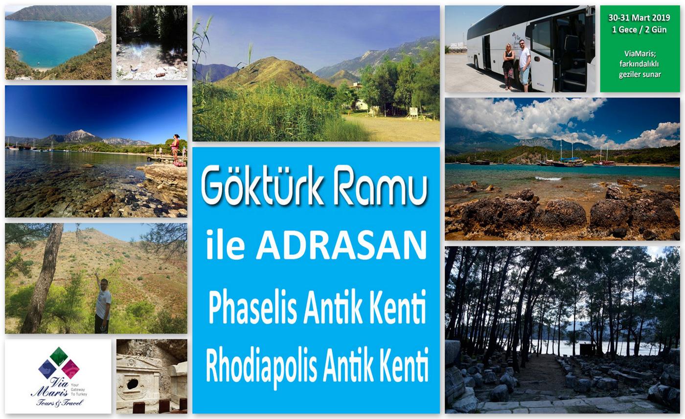 Adrasan Rhodiapolis Phaselis Gezisi