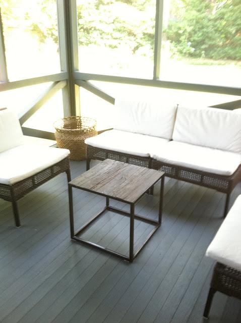 Blue chickadee revamp for Revamp coffee table