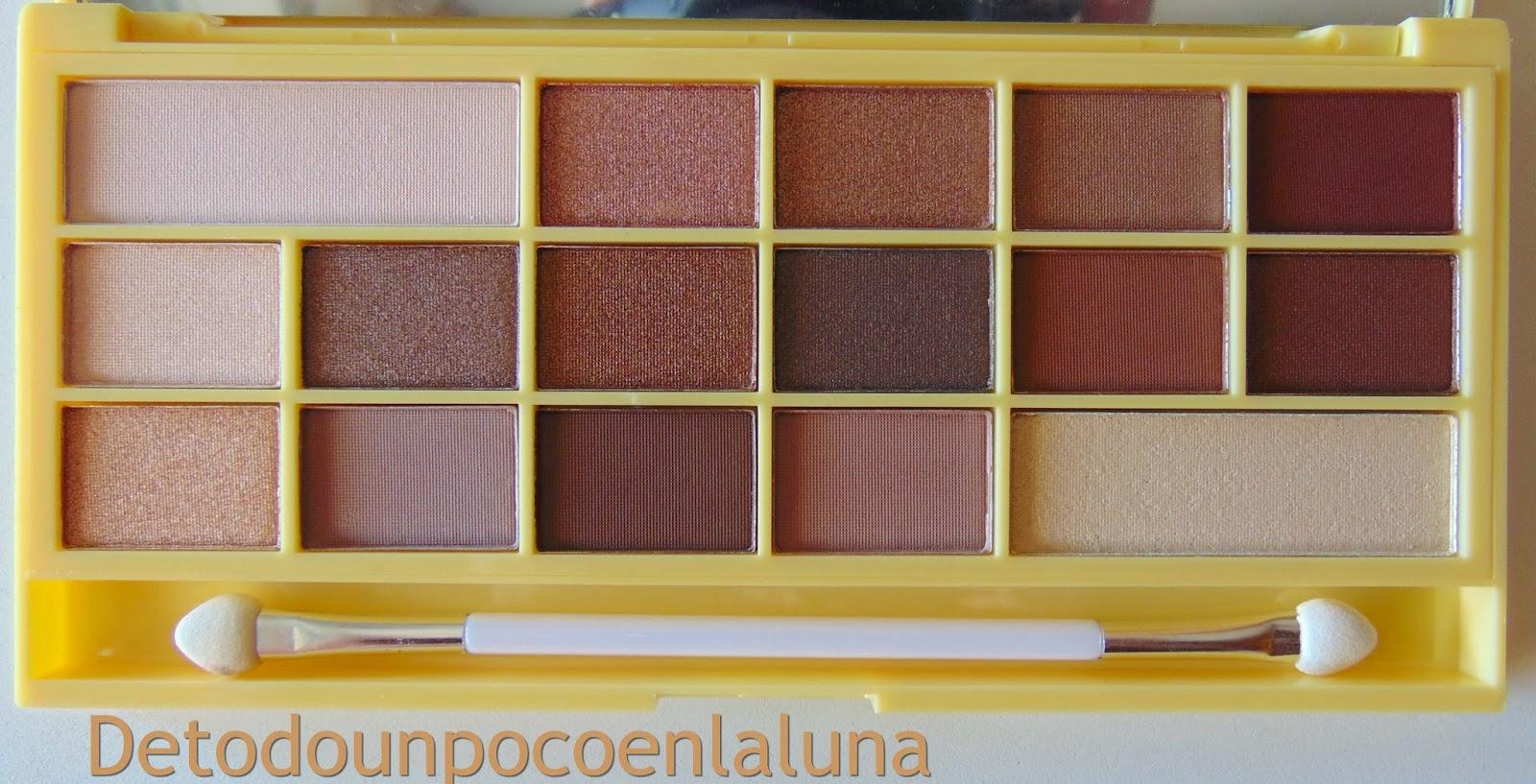 "Paleta "" Naked Chocolate ""  de I heart Makeup"
