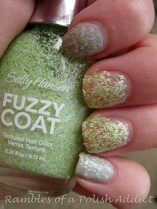 Sally Hansen Fuzzy Coat review and swatches | Rambles of a Polish Addict