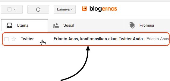 Cara Daftar di Twitter Full Gambar