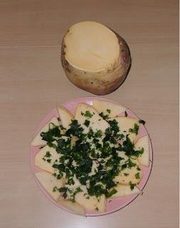 20 февраля, салат из брюквы