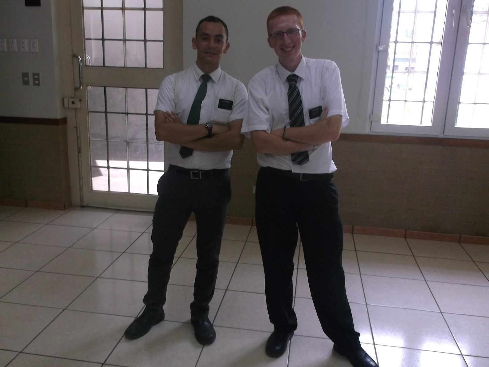 Elder Haynie and Elder Simms