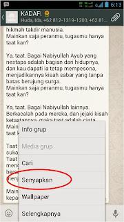 Cara Menonaktifkan Suara Notifikasi Grup WhatsApp