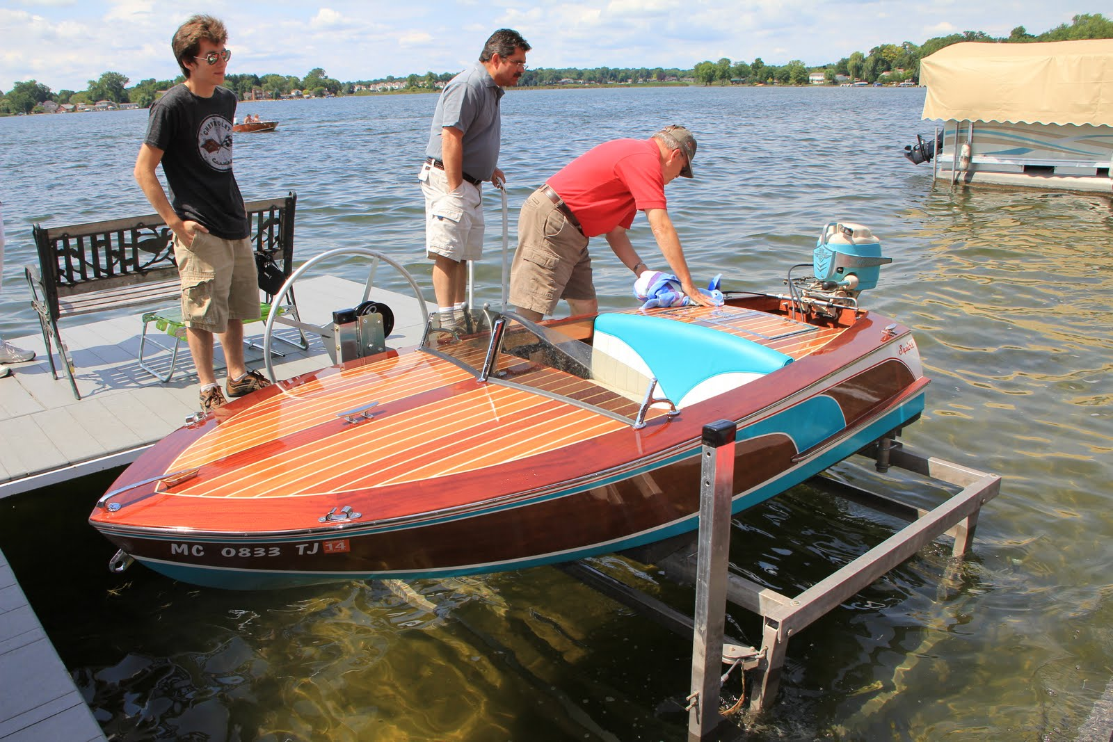 how to make a boat with thermocol and motor