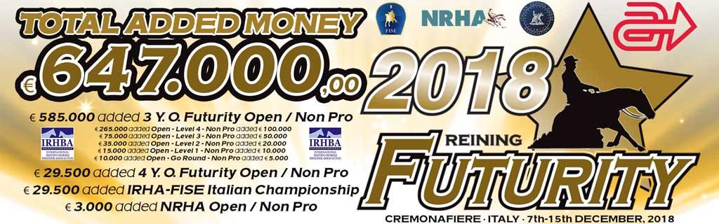 IRHA NRHA FUTURITY 2018