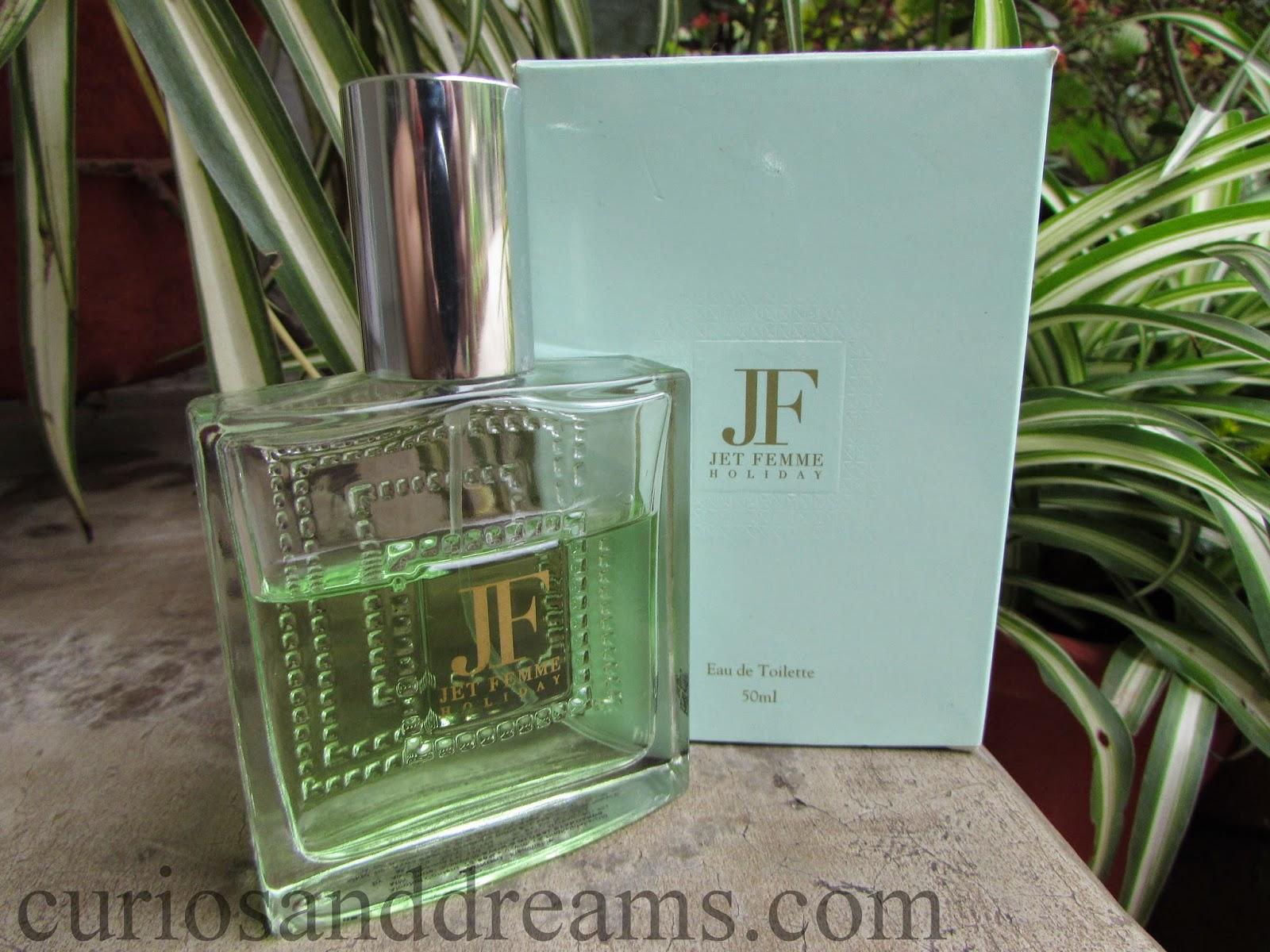 Avon Jet Femme Holiday Eau De Toilette review, Avon Jet Femme Holiday review, Avon Jet Femme Holiday edt review