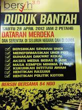 duduk bersih