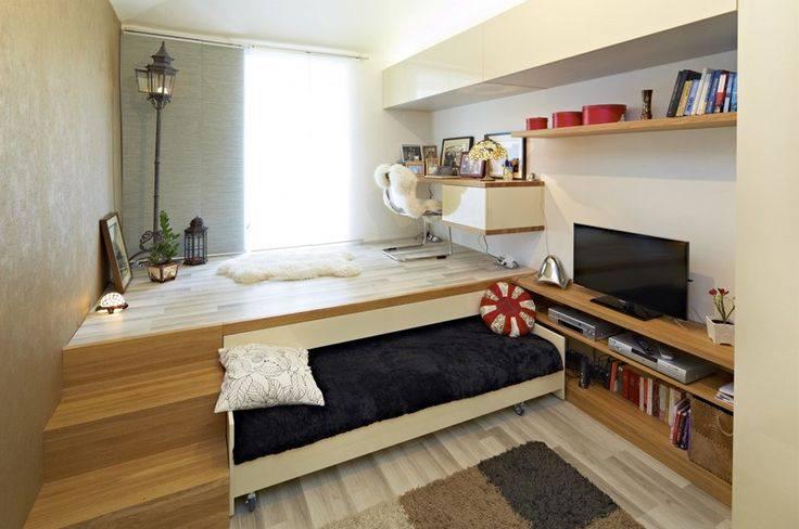 Подиум с кроватью в квартире своими руками