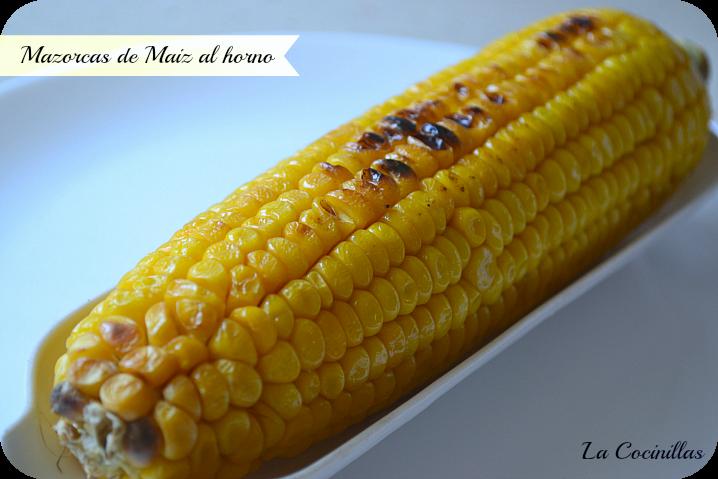 Mazorca Maiz Microondas Las Mazorcas de Maíz Horneadas