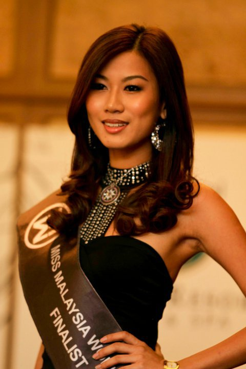 Yvonne Lee Crowned Miss World Malaysia 2012