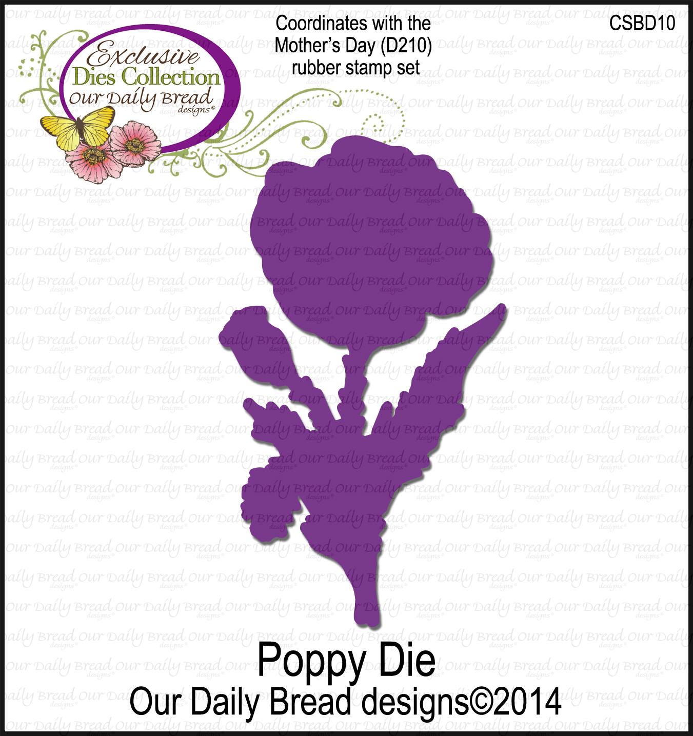 ODBD Custom Poppy Die
