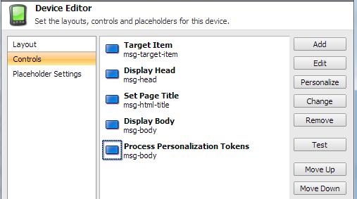 Sitecore Responsive Email Presentation Details