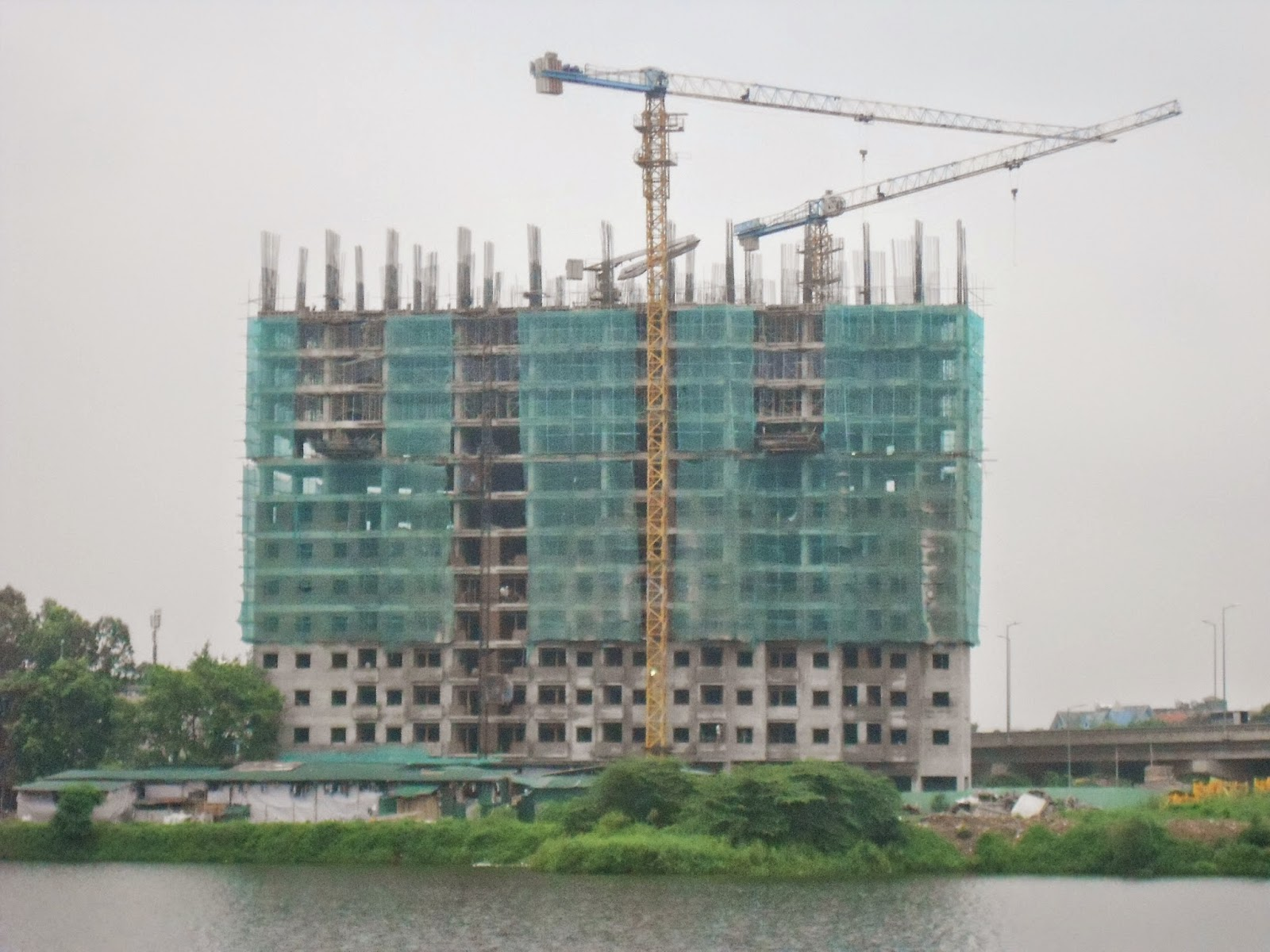 tiến độ dự án chung cư vp6 linh đàm 1