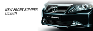 fitur all new camry
