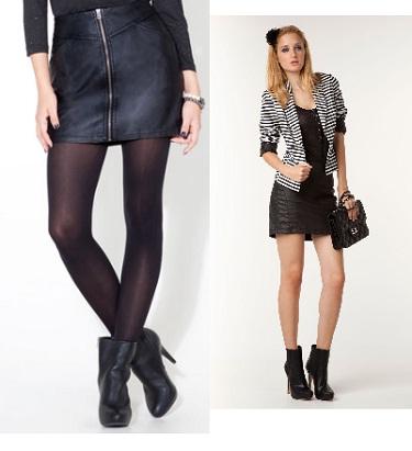 Ms de 25 ideas increbles sobre Las mini faldas de cuero
