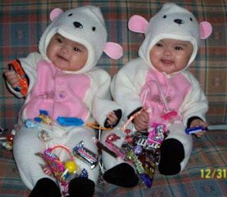 Cute Twins Babies