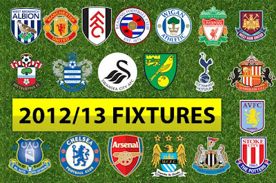 Jadwal Lengkap Barclays Premier League 2012-2013