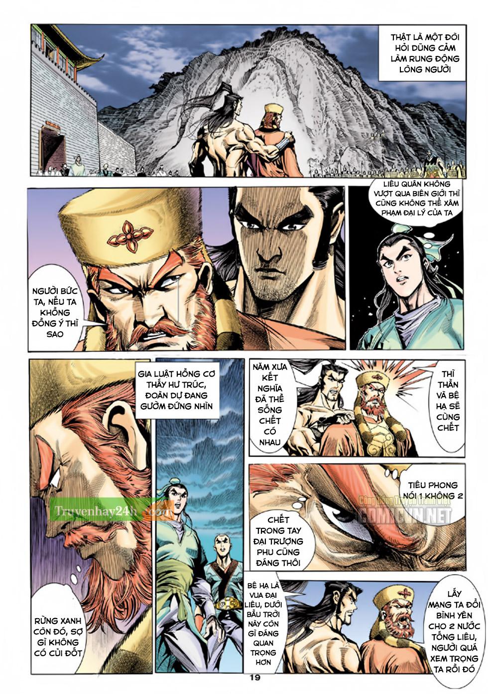 Thiên Long Bát Bộ chap 100 - Trang 20