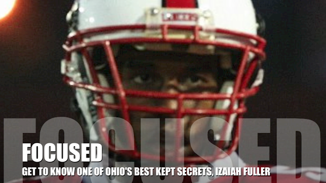 2014 WR and college prospect Izaiah Fuller is focused!