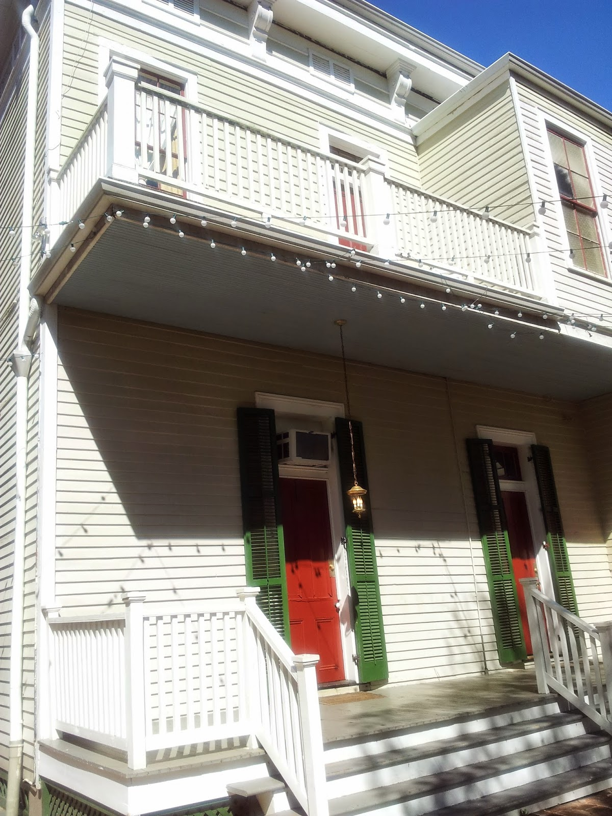 Front of Degas House, New Orleans