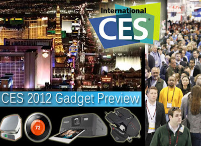 Upcoming Gadgets & Technologies in CES 2012