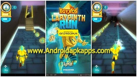Free Download Game Egyxos Labyrinth Run v1.0 Full Apk Terbaru 2015