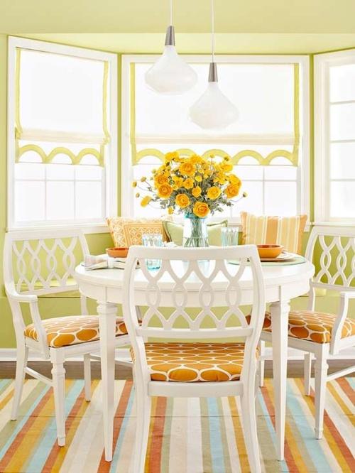 como decorar Decoração e Cores para Sala de jantar 2013