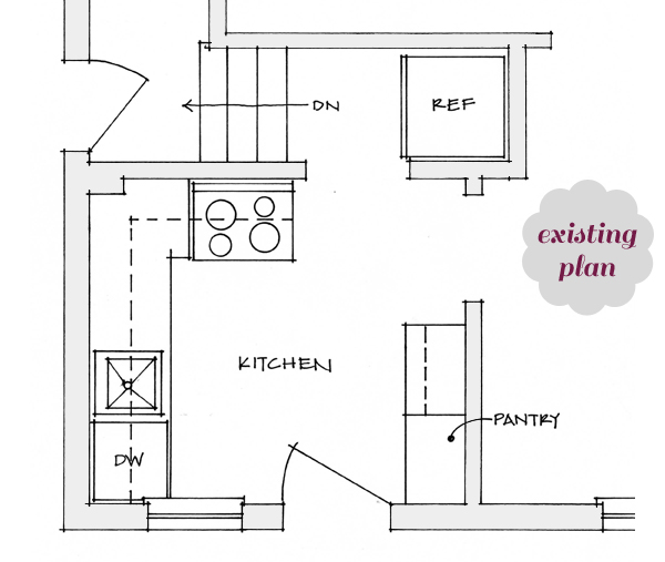 Paperforts kitchen dreams in plan for Dream kitchen floor plans