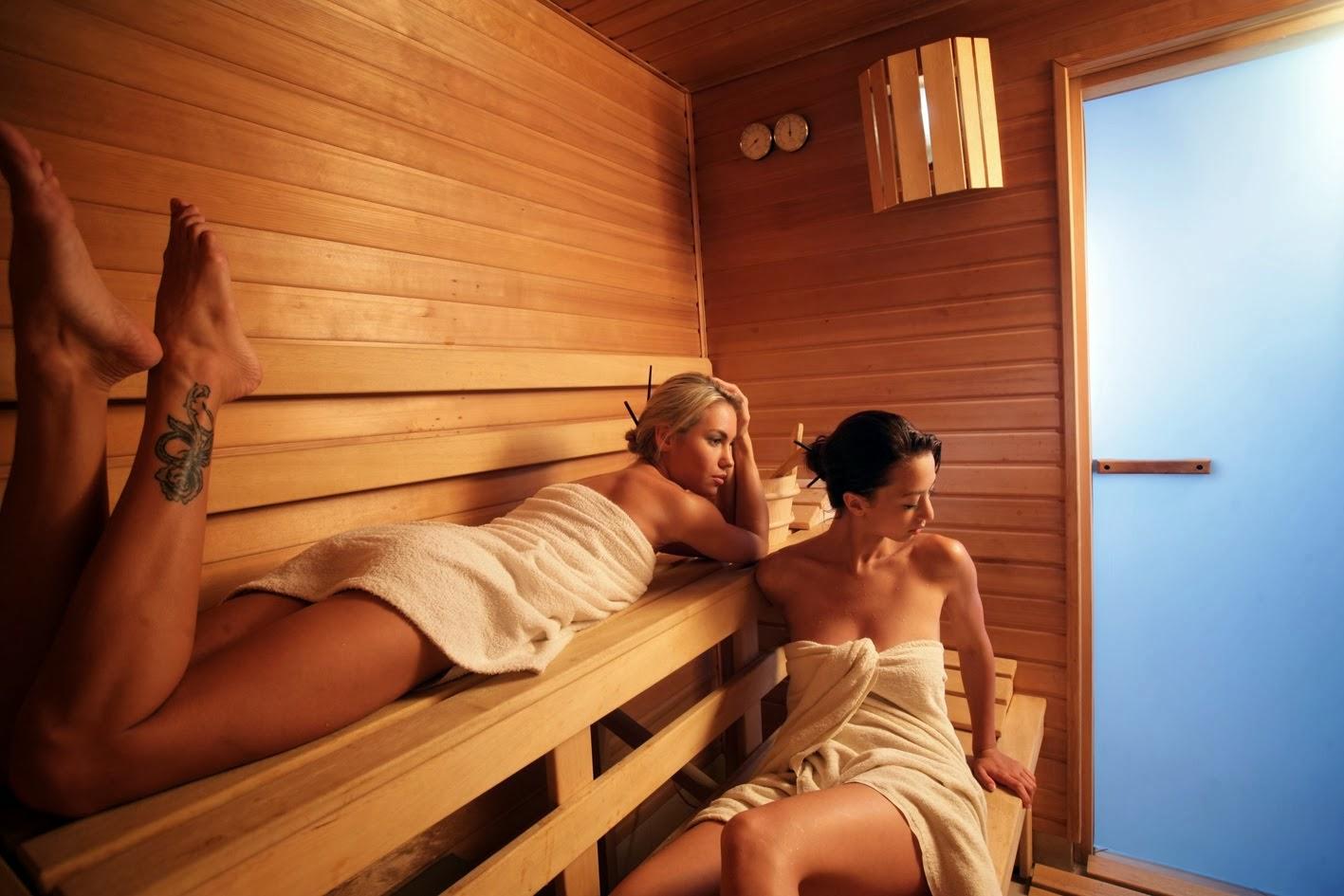 Русская баня девочки 1 фотография