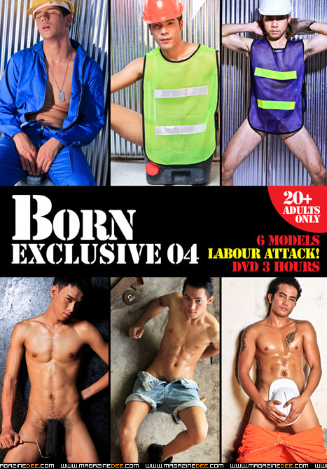 BORNEXCLUSIVE2012 06 004 00 001 Naked Thailand Construction Workers from Dee Magazine