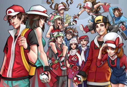 Pokemon Generations por Quirkilicious