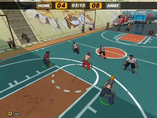 freestyle street basketball game PC