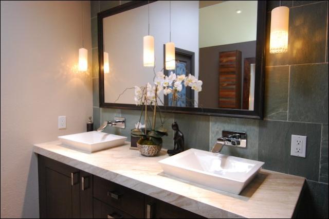 Asian bathroom design ideas for Zen bathroom design