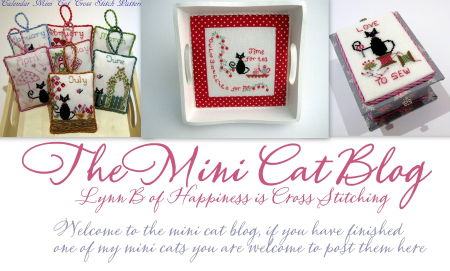 Lynn B 's  Mini Cat Cross Stitch Blog