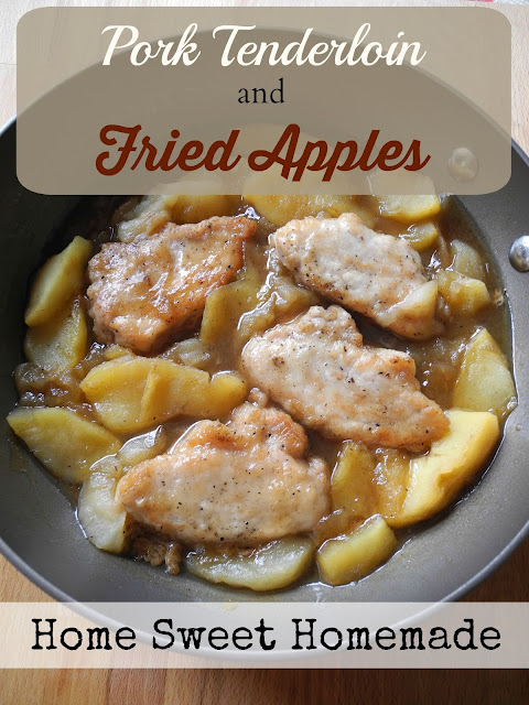 Pork Tendeloin and Fried Apples