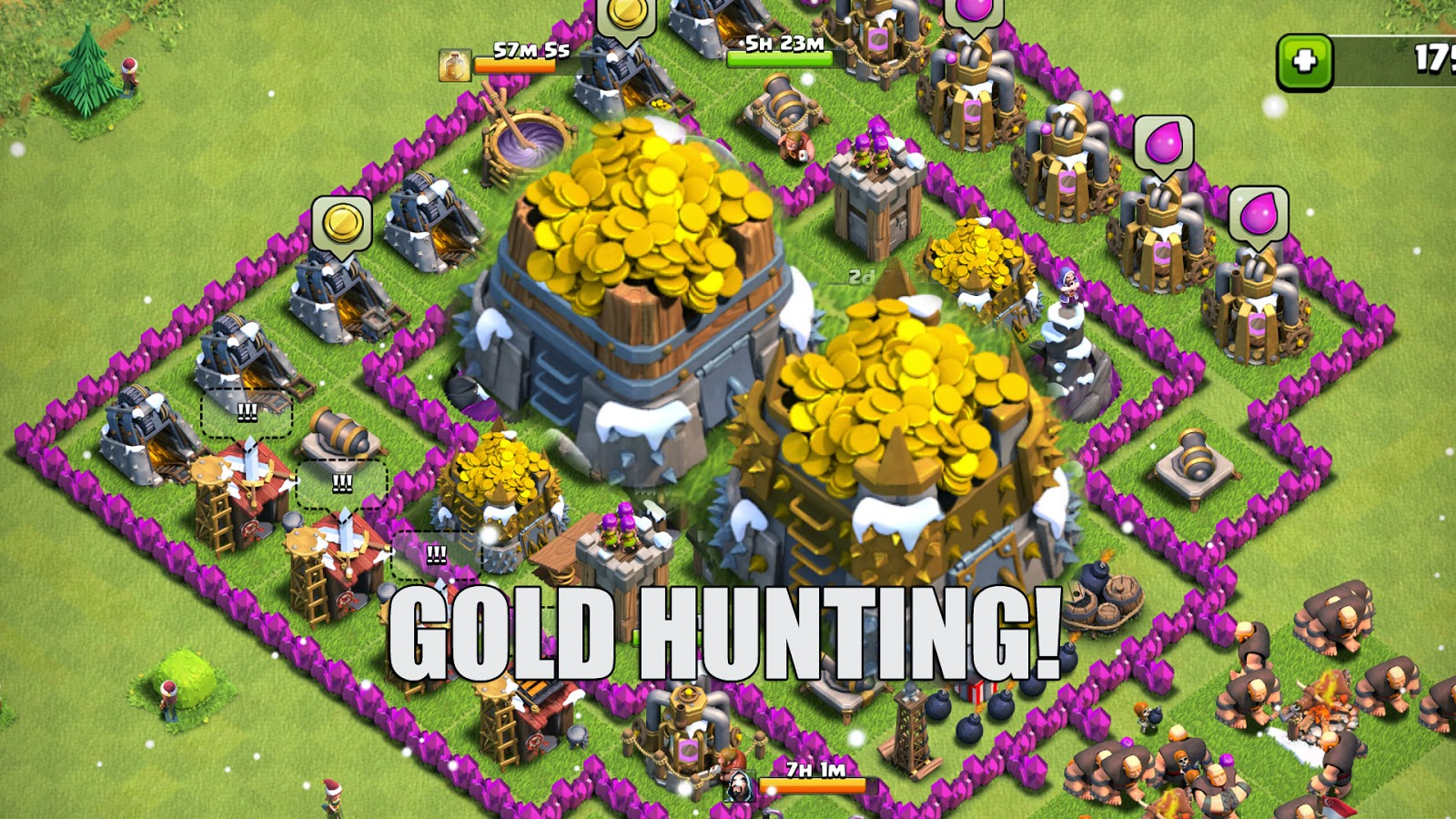 clash of the clans Download clash of clans 524 crush enemies and lead your clan to glory clash of clans is a management rts here you found a village where the members of your fearless clan reside.